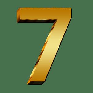 Destiny Number Seven (7) : Numerology - Fortune Telling Plus