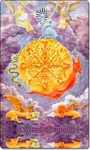 Wheel of Fortune - Reversed